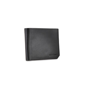 Black Shrunken Wallet - ZETTINO