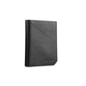 Black Vertical Shrunken Wallet