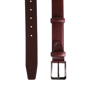 Classic Dark Brown Belt - ZETTINO