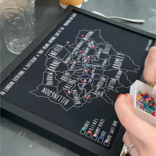 Load image into Gallery viewer, Personalised London Pin Board Map (NEW)