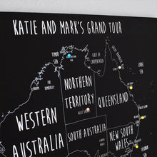 Load image into Gallery viewer, Personalised Australia Pin Board Map