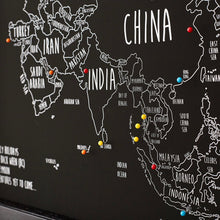 Load image into Gallery viewer, Personalised Asia Pin Board Map