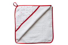 Hooded Towel - HEARTS