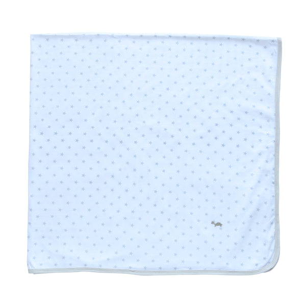 Baby Wrap - Stretch Cotton Jersey: GREY STARS