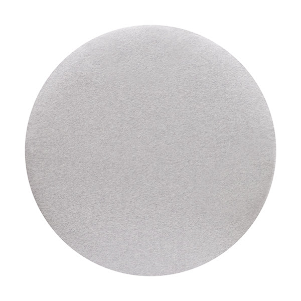 CIRCLE Bassinet Fitted Sheet (JERSEY): SOFT GREY MARLE