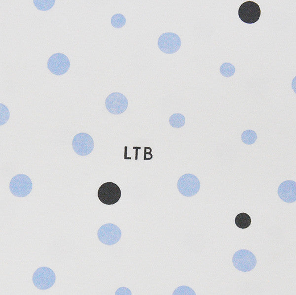 Baby Wrap - Stretch Cotton Jersey: PALE BLUE & GREY SPOTS - Little Turtle Baby