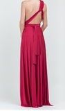 Burgandy Multiway Dress One Sized