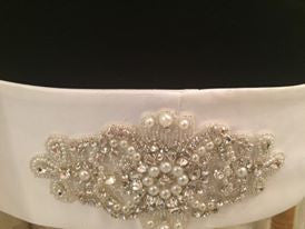 Geneva Bridal Belt by T.B.L