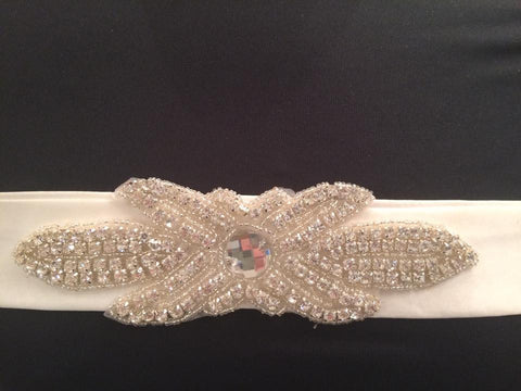 T.B.L Jewl Encrusted Bridal Belt