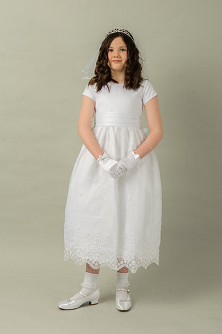 Blair Communion Dress  By Valentina Exclusive to The Bridal Lodge ( Sale)