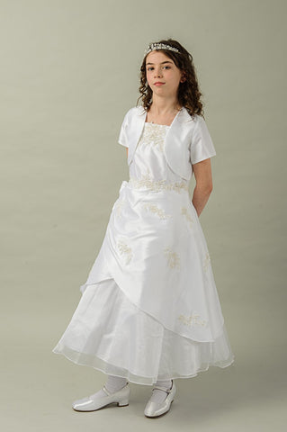 Iris Communion Dress & matching Jacket By Valentina Exclusive To The Bridal Lodge (Sale)