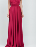 Burgandy Multiway Dress By TBL Available in size Uk 6 to UK 32 not one sized