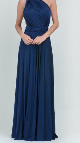Navy Multiway Dress By TBL Available in Size UK6 to UK 32 Not One Sized