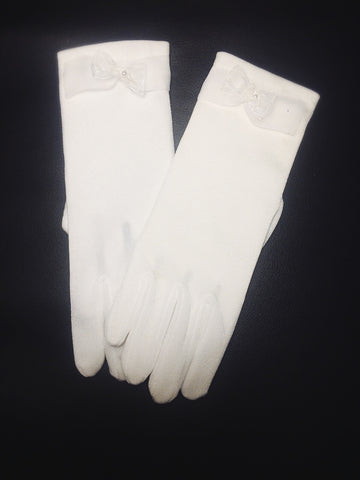 Gigi girls communion glove