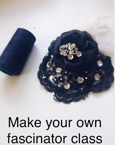 Fascinator making class book now as only a limited amount of classes available.