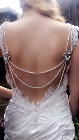 Back jewellery by Niamh Corazon