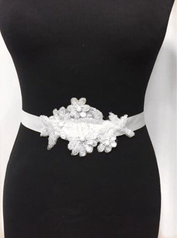 Beatrix Bridal Belt by T.B.L