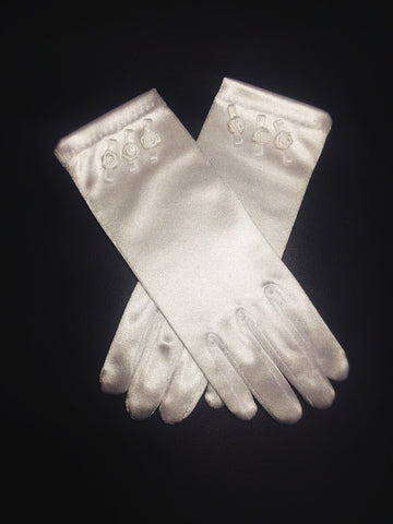 Charlene girls communion glove (sale)