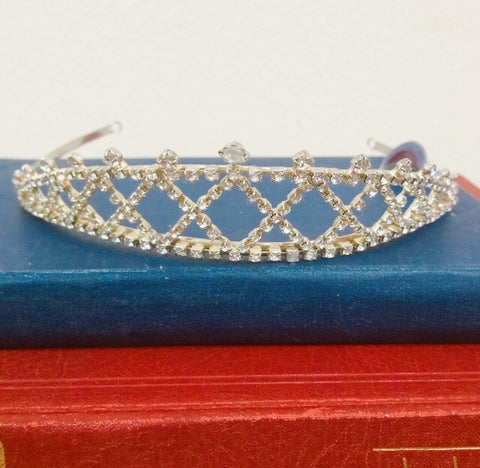 Gold diamanté Tiara