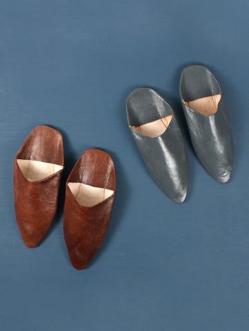 Moroccan Slippers Mens