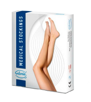 Gloria Med Soft Below Knee Open Toe - Class 2 (23-32mmHg)