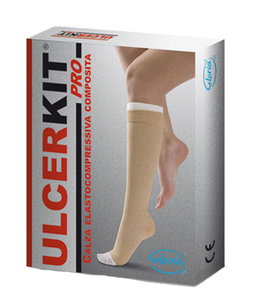 Gloria Ulcer Kit Pro 40 Cotton Below Knee (Compression Class 40-45mmHg)