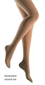 Jobst Bellavar Thigh High With Open Toe And Silicone Band - Class 3 (34-46mmHg)