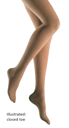 Jobst Bellavar Tights With Open Toe - Class 2 (23-32mmHg)