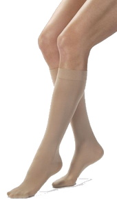 Jobst Opaque Below Knee Closed Toe - Class 2 (23-32mmHg)
