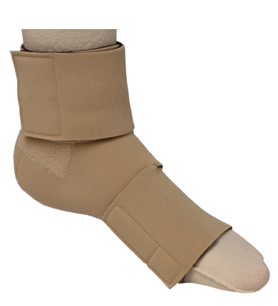 Juxta-Fit Lower Ankle Foot Wrap (Closed Heel)