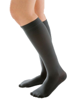 Juzo Attractive Below Knee Closed Toe With Silicone Border - Standard Length - Class 1 (18-21mmHg)