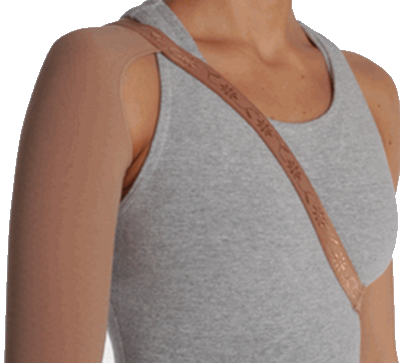 Juzo Dynamic Armsleeve With Shoulder Strap - Class 2 (23-32mmHg)