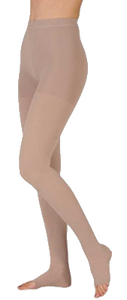 Juzo Dynamic Tights Open Toe - Short Length - Class 2 (23-32mmHg)