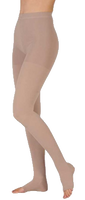 Juzo Dynamic Tights Open Toe - Short Length - Class 1 (18-21mmHg)