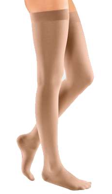 Mediven Elegance Thigh Length with Silicone Top Band (Closed Toe) - Class 2 (23-32mmHg)
