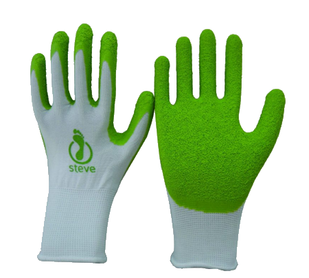 Steve+ EasyOn Gloves (Latex-Free)