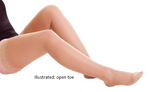 Altiven Hold-up Stockings Open Toe (extra wide) - Class 3 (34-46mmHg)