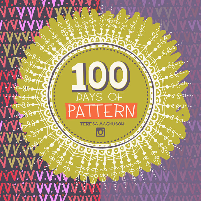 Making 100 Days of Patterns on Instagram (And How You Get to the Finish Line)