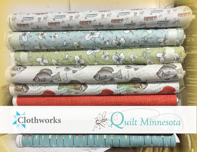 Quilt MN Fabrics Arrive for 2016!