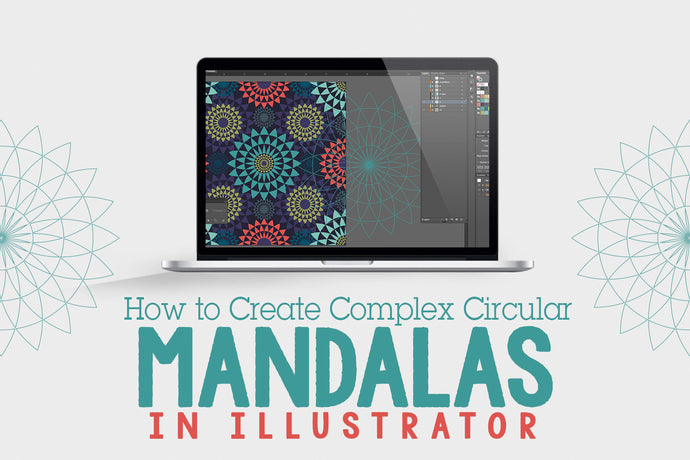 How To Create Complex Circular Mandalas In Illustrator