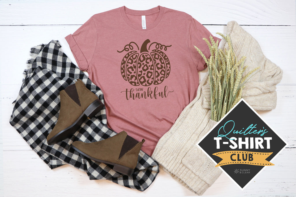 NOV Quilter's T-Shirt Club shirt by Sunny & Clear