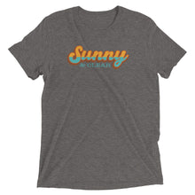 Load image into Gallery viewer, T-Shirt Short sleeve Unisex - TRI-BLEND HEATHER GRAY- Sunny & Clear retro