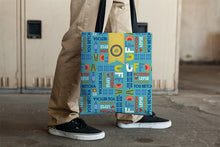 Load image into Gallery viewer, Tote Bag - Uffda, Aqua