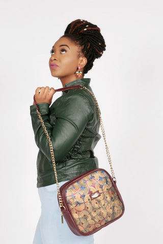 Pepperfruit Peacock Cross Body Bag