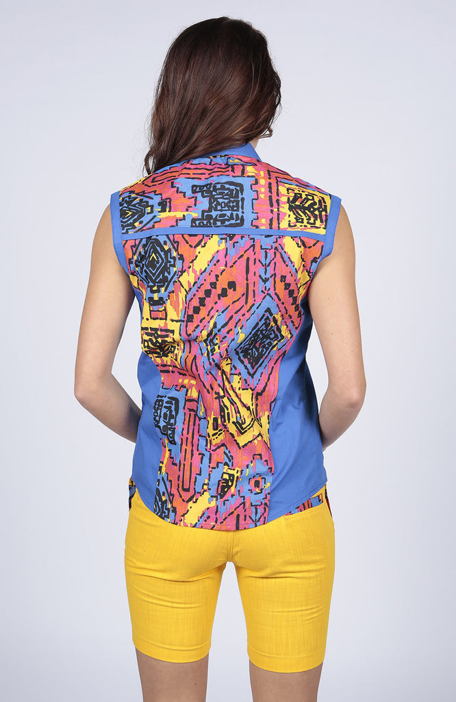Amelia Printed Women's Shirt