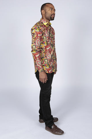 Spicy Pepperfruit Paisley Shirt
