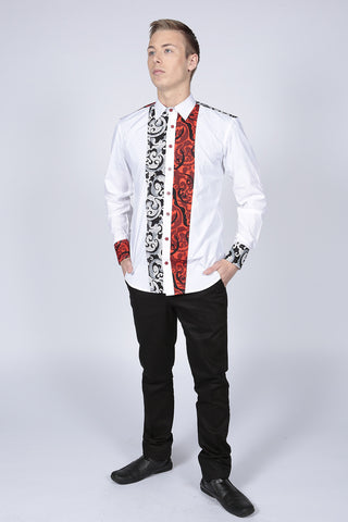 Pepperfruit Whitefriars Printed Shirt