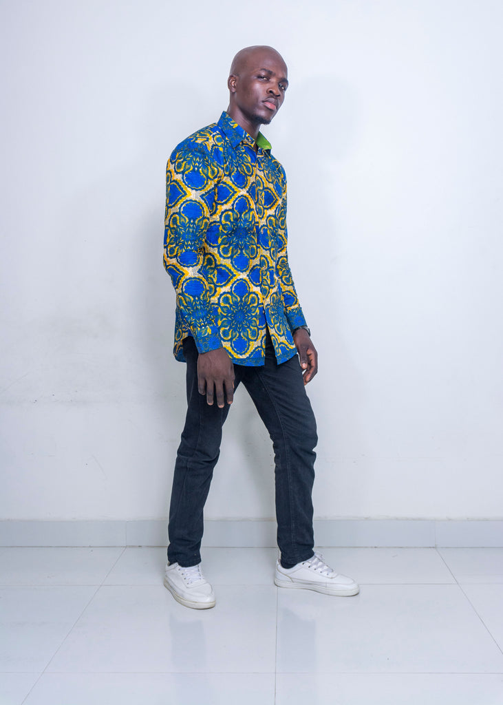 Pepperfruit Abuja II Print Cotton Shirt