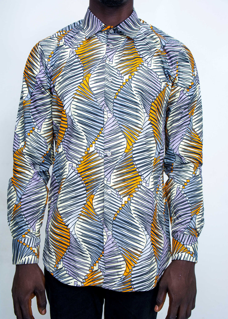 Pepperfruit Abuja III Print Cotton Shirt