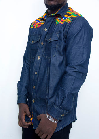 Pepperfruit Alpha Denim Shirt